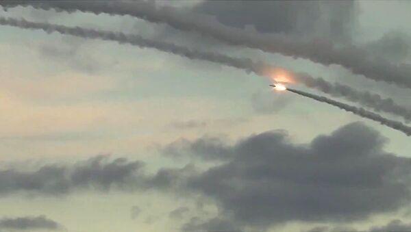 Авиа удар по объектам террористов в Сирии - Sputnik Ўзбекистон