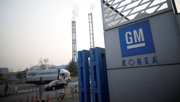 Zavod GM Korea v Inchone, Yujnaya Koreya - Sputnik Oʻzbekiston
