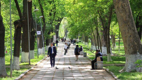 Парк в Ташкенте - Sputnik Узбекистан