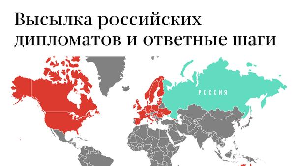 Какие страны высылают российских дипломатов - Sputnik Узбекистан