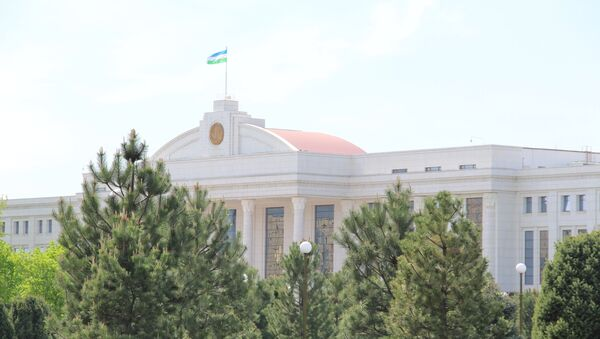 Здание Сената Олий Мажлиса Узбекистана - Sputnik Узбекистан