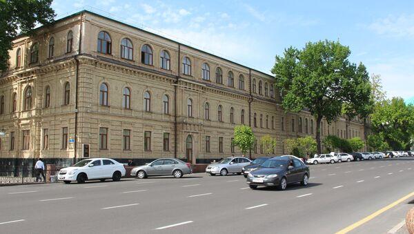 Здание Юридического института в Ташкенте - Sputnik Ўзбекистон