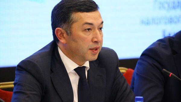 Первый заместитель председателя Государственного налогового комитета (ГНК) Бехзод Мусаев - Sputnik Узбекистан