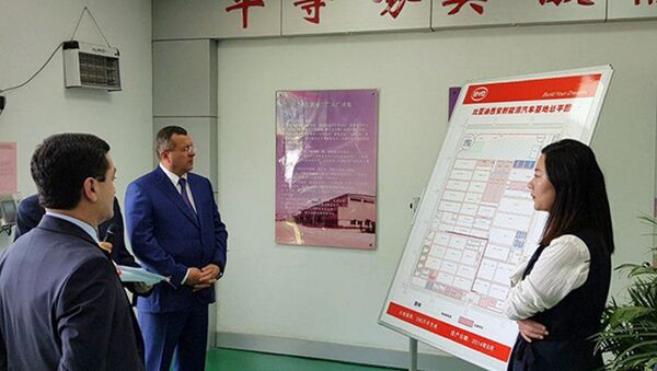 Делегация Самаркандской области совершила визит в Китай - Sputnik Ўзбекистон