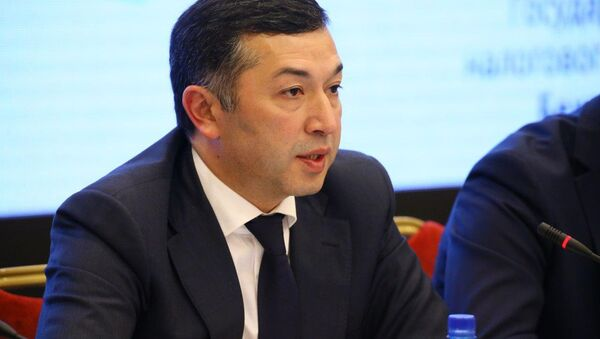 Первый зампред Государственного налогового комитета РУ Бехзод Мусаев - Sputnik Узбекистан