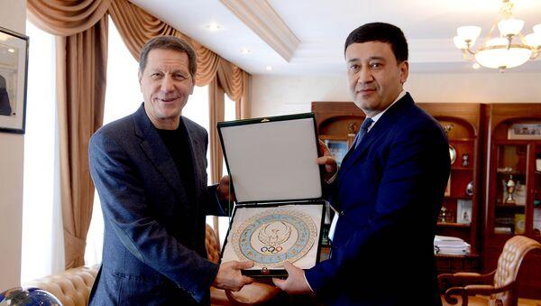 ОКР подписал меморандум о сотрудничестве с НОК Узбекистана - Sputnik Ўзбекистон