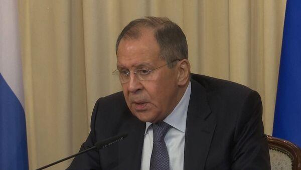 СПУТНИК_Лавров высказался о предполагаемой химической атаке в сирийской Думе - Sputnik Ўзбекистон