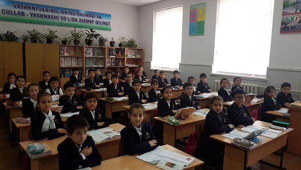 Ucheniki shkolы №91 Tashkenta - Sputnik Oʻzbekiston
