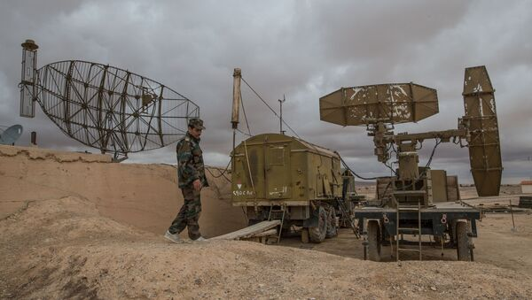 База ВВС сирийской армии в провинции Хомс - Sputnik Узбекистан
