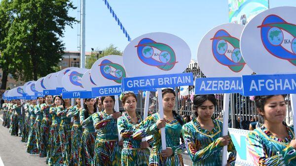 Международный турнир по курашу на кубок президента Республики Узбекистан - Sputnik Ўзбекистон