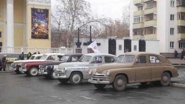 Из России в Узбекистан стартует автопробег посвященный победе во Второй Мировой войне - Sputnik Ўзбекистон