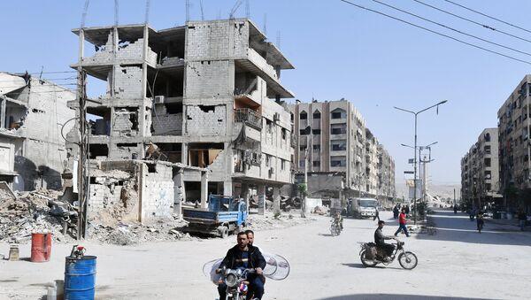 Ситуация в сирийском городе Дума - Sputnik Узбекистан