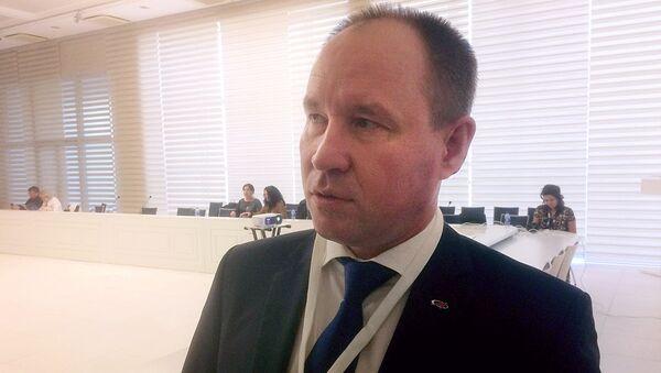 Представитель государственной корпорации по космической деятельности Роскосмос в Центральной Азии Анатолий Красников - Sputnik Узбекистан