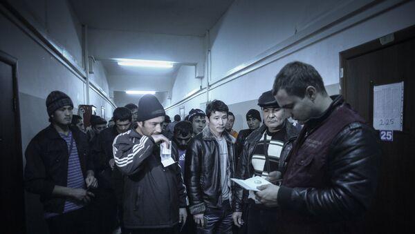 Мигранты в Москве - Sputnik Узбекистан