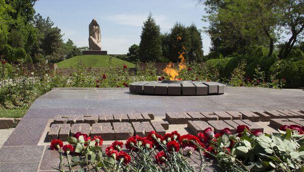 Memorialnыy kompleks Bratskiye mogilы v Tashkente - Sputnik Oʻzbekiston