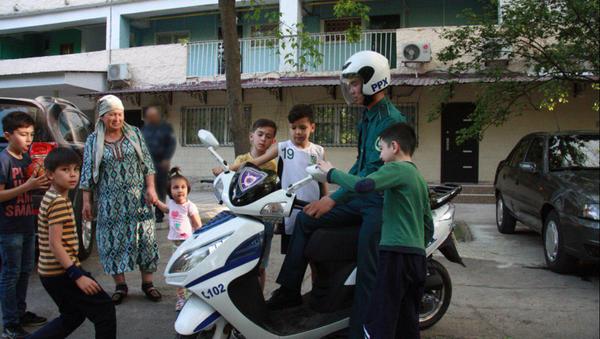 В Ташкенте появился уникальный патруль на скутерах - Sputnik Ўзбекистон