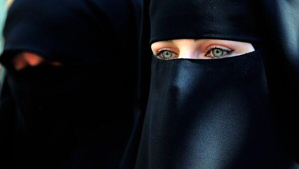 Мусульманка, архивное фото - Sputnik Ўзбекистон