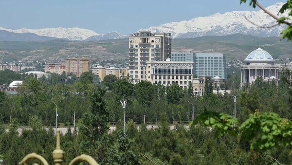 Город Душанбе, архивное фото - Sputnik Ўзбекистон