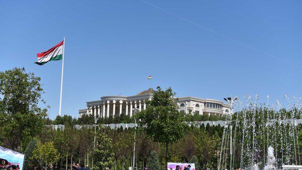 Дворец Нации в Душанбе, архивное фото - Sputnik Ўзбекистон
