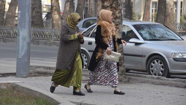 Zima v Dushanbe - Sputnik Oʻzbekiston