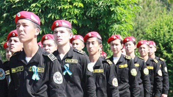 Детский военный парад в Ташкенте - Sputnik Ўзбекистон