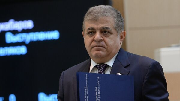 Первый заместитель председателя Комитета Совета Федерации по международным делам Владимир Джабаров  - Sputnik Узбекистан