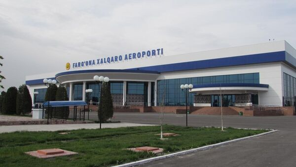Фарғона шаҳридаги аэропорт - Sputnik Ўзбекистон
