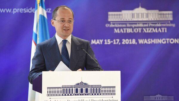 Press-sekretar prezidenta Uzbekistana Komil Allamjonov  - Sputnik Oʻzbekiston