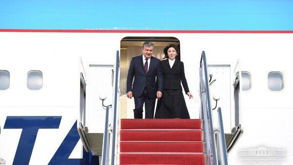 Президент Шавкат Мирзиёев прибыл в Вашингтон - Sputnik Узбекистан