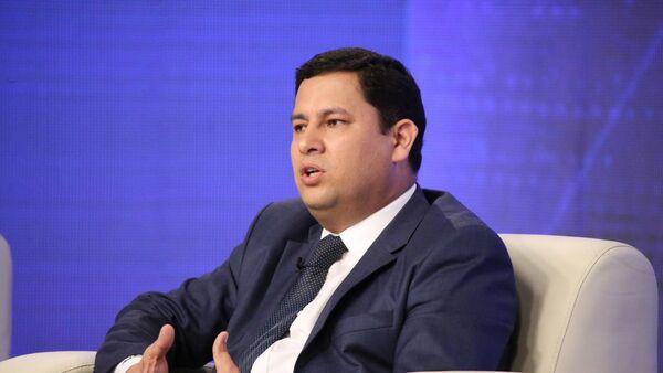 Первый заместитель председателя правления компании Узбекнефтегаз Улугбек Сайидов - Sputnik Ўзбекистон