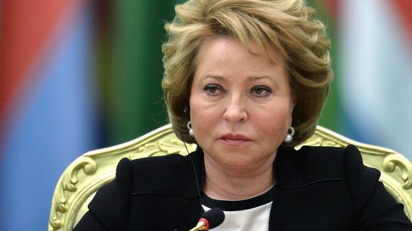 Спикер Совета Федерации РФ Валентина Матвиенко  - Sputnik Узбекистан