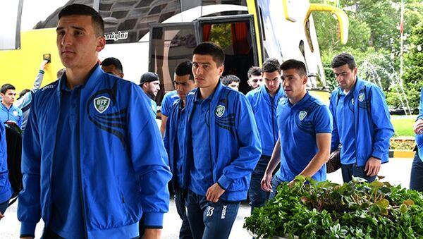 Sbornaya Uzbekistana po futbolu pribыla v Iran - Sputnik Oʻzbekiston
