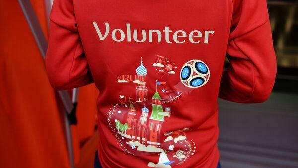 Форма волонтера чемпионата мира по футболу - 2018 - Sputnik Узбекистан