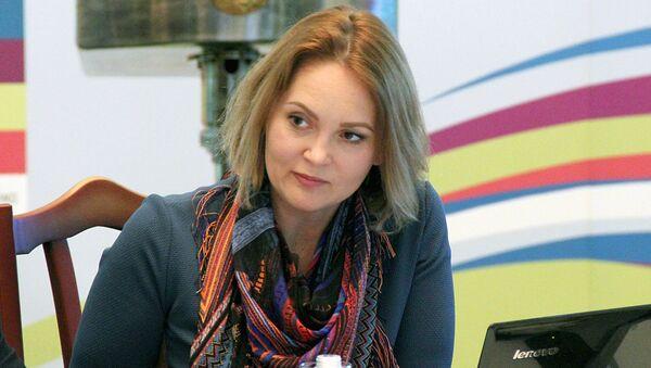 Начальник отдела инвестиций и реализации инвестиционных проектов Tashkent City Анна Барсукова - Sputnik Ўзбекистон