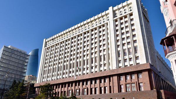 Здание Администрации президента Азербайджанской Республики - Sputnik Узбекистан