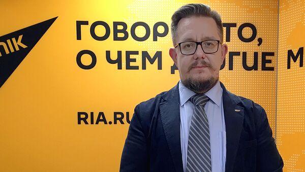Политолог Александр Асафов - Sputnik Узбекистан