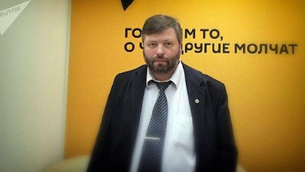 Заместитель директора института океанологии им. Ширшова РАН Петр Завьялов - Sputnik Узбекистан