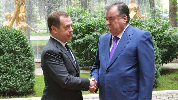 Рабочий визит премьер-министра РФ Д. Медведева в Таджикистан - Sputnik Ўзбекистон