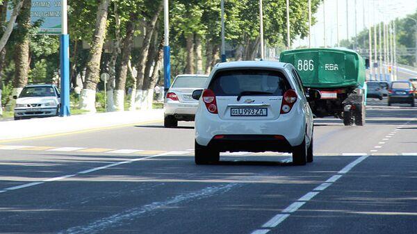 Avtomobilnoye dvijeniye v Tashkente - Sputnik Oʻzbekiston