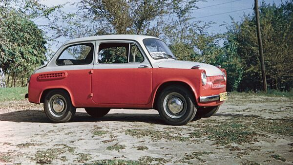 ЗАЗ-965 Запорожец - Sputnik Ўзбекистон