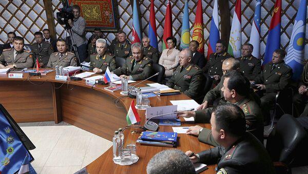 Встреча министров обороны стран СНГ - Sputnik Ўзбекистон