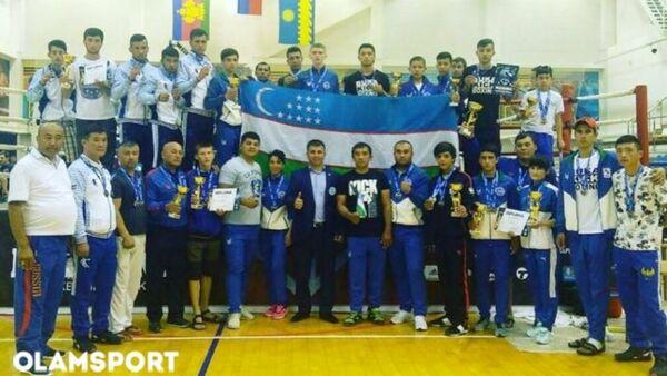 Узбекистанские кикбоксеры завоевали 50 медалей в Кубке мира - Sputnik Ўзбекистон