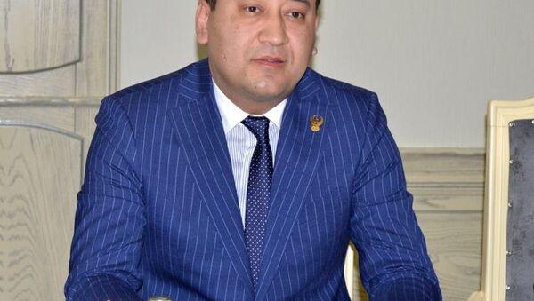 Президент НОК Узбекистана Умид Ахмаджанов  - Sputnik Узбекистан