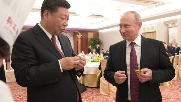 Государственный визит президента РФ В. Путина в Китай - Sputnik Узбекистан