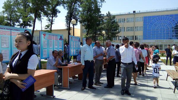 Ярмарка вакансий в Ташкенте - Sputnik Ўзбекистон