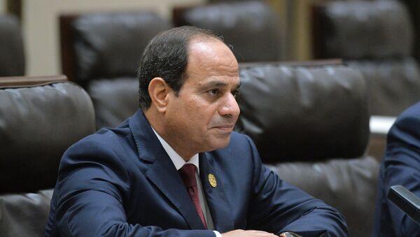 Президент Египта Фаттах ас-Сиси  - Sputnik Узбекистан