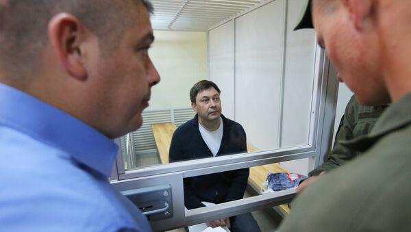 Рассмотрение апелляции по делу журналиста К. Вышинского - Sputnik Узбекистан