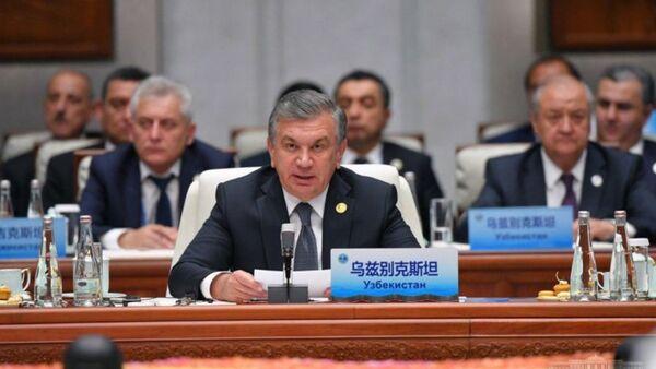Шавкат Мирзиёев на саммите ШОС в Циндао - Sputnik Узбекистан