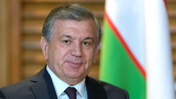 Президент Республики Узбекистан Шавкат Мирзиёев на саммите ШОС в Китае - Sputnik Ўзбекистон