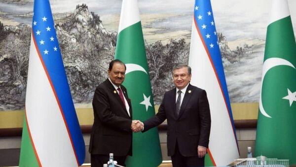 Президент Узбекистана Шавкат Мирзиёев  встретился с главой Пакистана Мамнуном Хусейном. - Sputnik Узбекистан